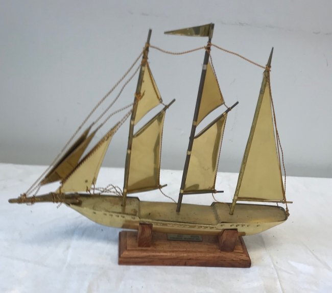 Sir Winston Churchill Sail Boat Model - 3