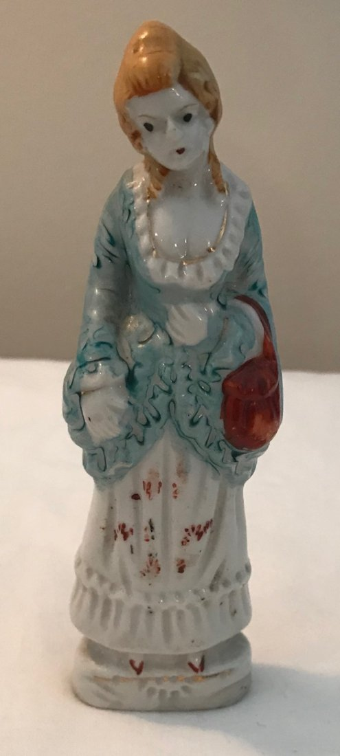 Colonial Japan 19th Century Woman Style figurine