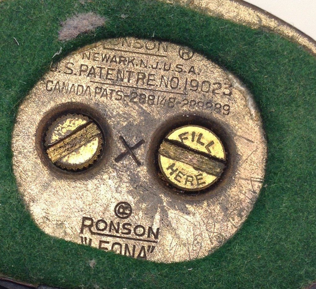 Ronson Vintage Verona Cigarette Lighter - 5