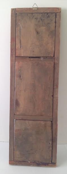 Antique Chinese Wood Panel Artistry Carving 35 x 11 - 5