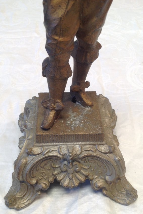 Gallant French Solider Statue 15 In. H - 2