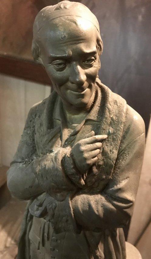 Fredrich Schiller Standing Statue 24 H X 9 W - 2