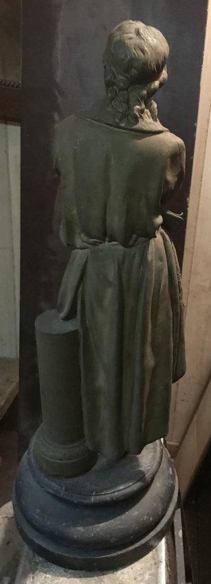 Fredrich Schiller Standing Statue 24 H X 9 W - 3