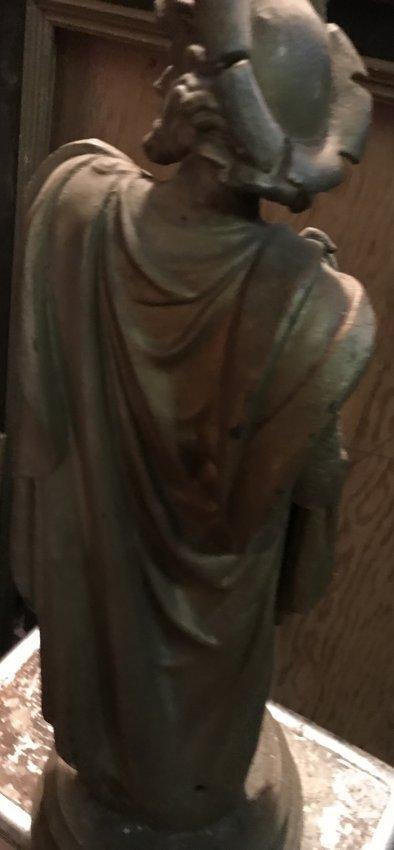 Male Statue with Cape 21 H x 6 W - 3