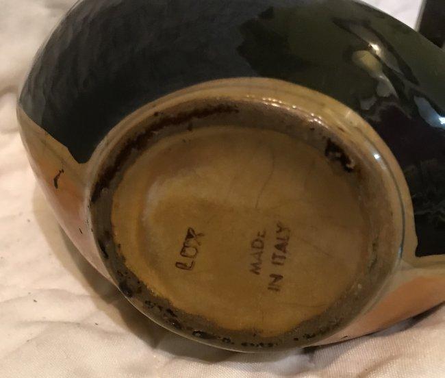 Italian porcelain Gondola 11 x 6 - 4