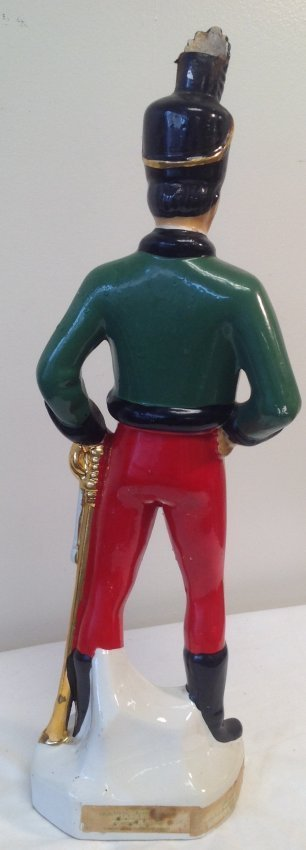 CORONETTI CUNARDO Decanter Soldier Figurine - 3