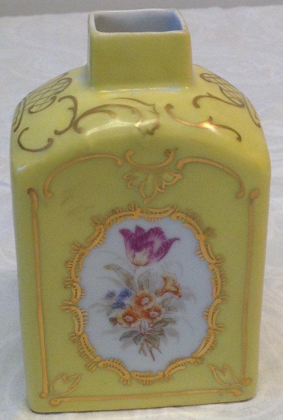 Czech Victorian Carlsberg Porcelain Vase