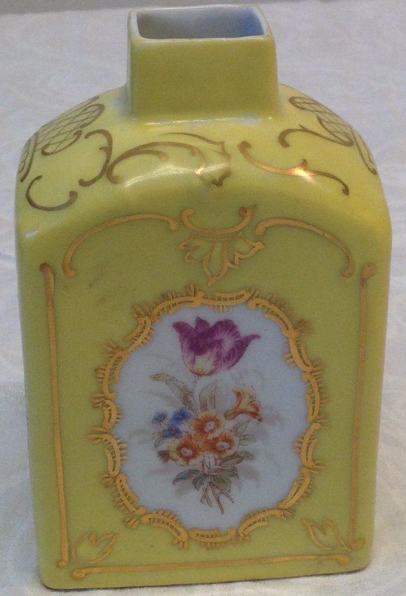 Czech Victorian Carlsberg Porcelain Vase - 2