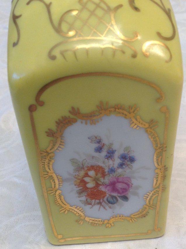 Czech Victorian Carlsberg Porcelain Vase - 3
