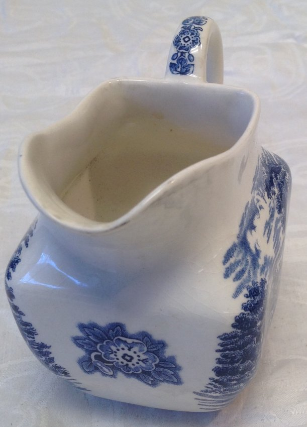 Liberty Blue Creamer 4 Inches H - 2