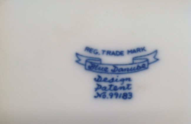 Blue Danube Dish /Tray 6 Inches Wide - 4