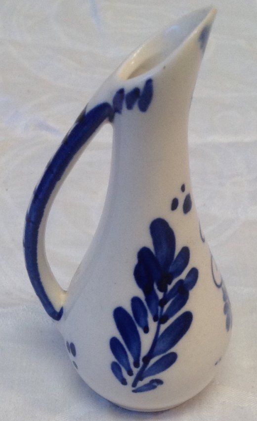 Delft Miniature Water Pitcher