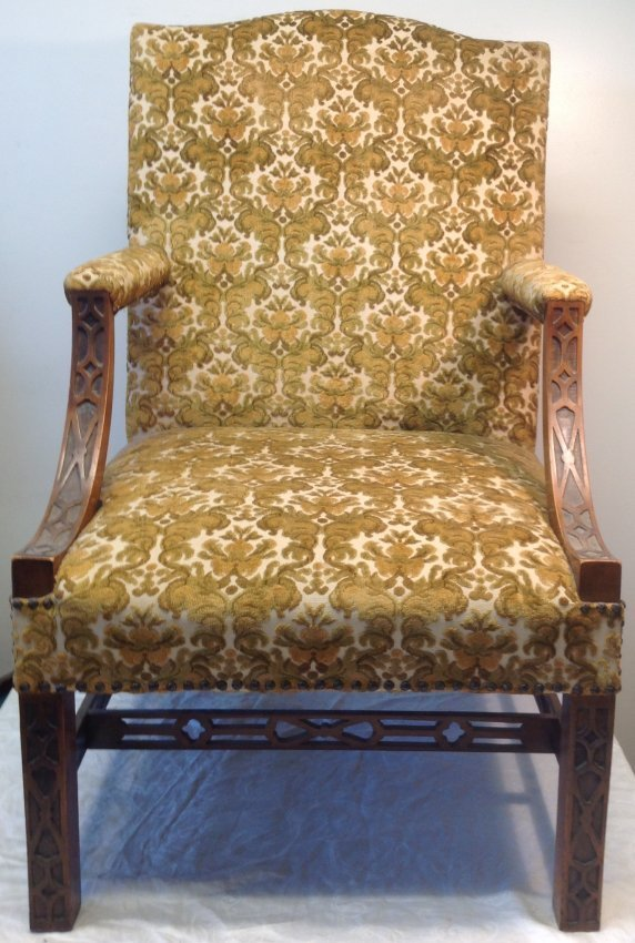 Antique Arm Chair 25 w x 42 H
