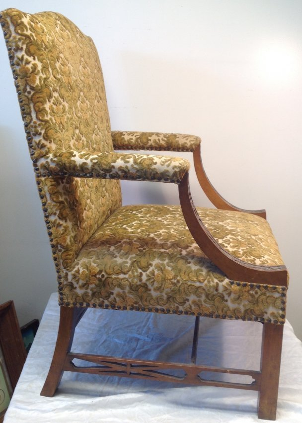 Antique Arm Chair 25 w x 42 H - 3