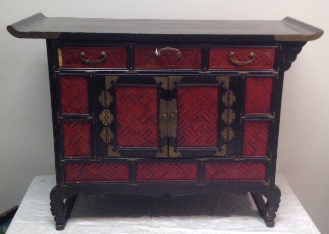 Buddhist Home Altar Chest: 25 x 27 x 13