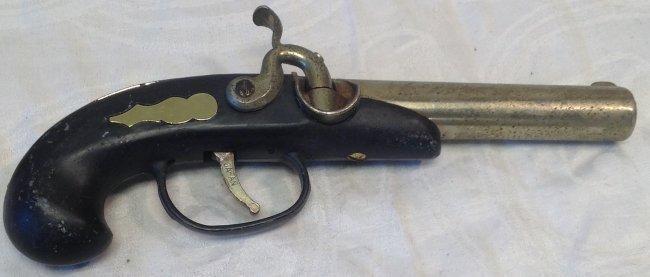 Vintage Art Decor Gun Smoking Lighter - 3