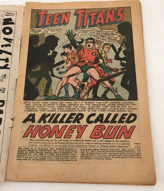 Teen Titans No.8 : 1967: A Killer Called Honey Bun - 5