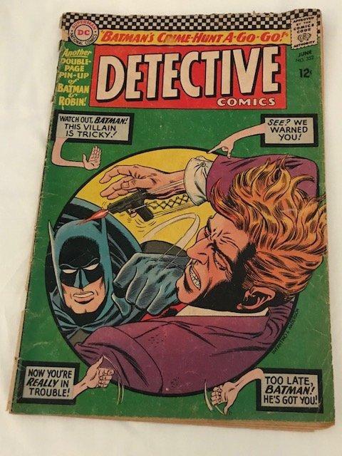 Detective Comics Batman Crime Hunt A Go Go