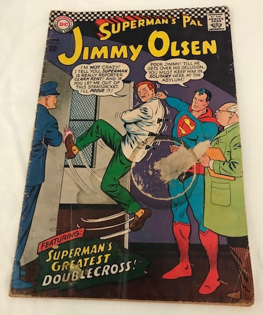 Superman's Pal, Jimmy Olsen June No. 102. 1967