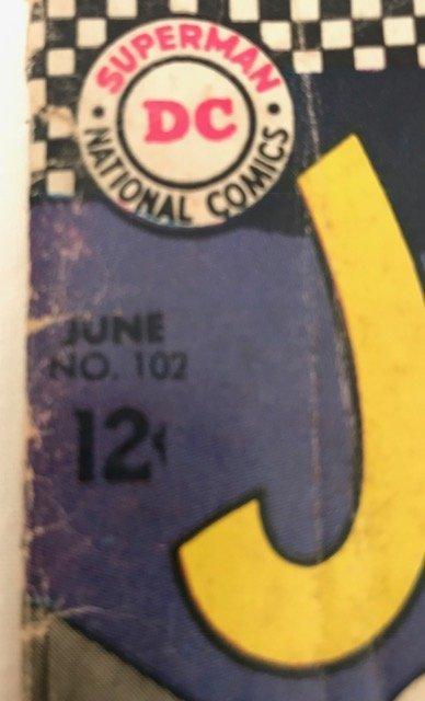 Superman's Pal, Jimmy Olsen June No. 102. 1967 - 2