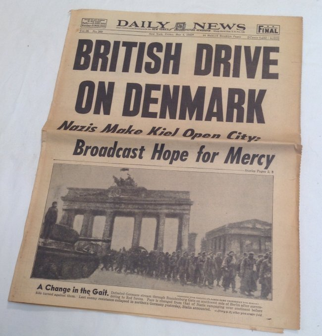 Berlin Falls 1945 Daily News