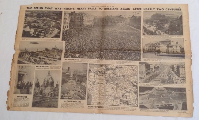 Berlin Falls 1945 Daily News - 5
