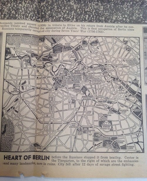 Berlin Falls 1945 Daily News - 6