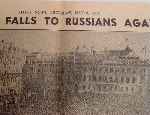 Berlin Falls 1945 Daily News - 7
