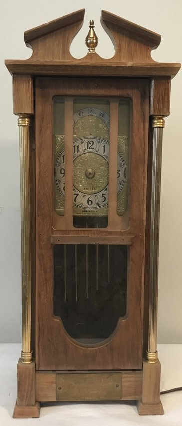 Vintage United Clock Company Clock