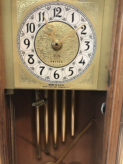 Vintage United Clock Company Clock - 3
