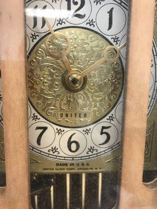 Vintage United Clock Company Clock - 4