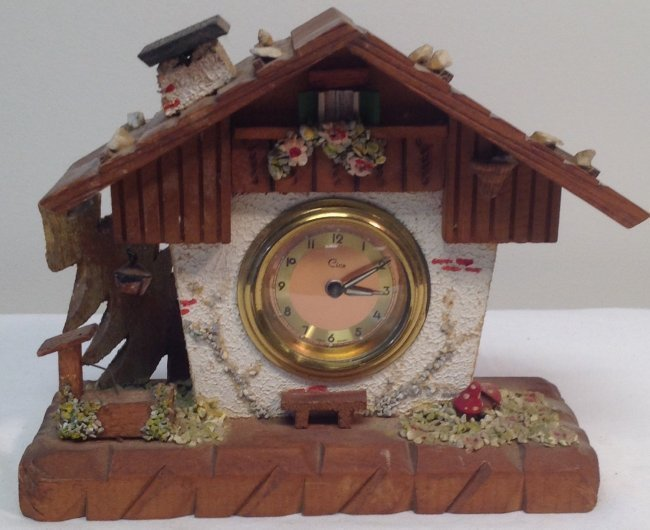 German Cica Black Forest Clock