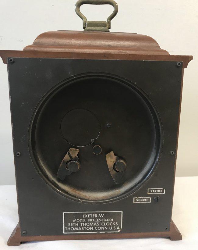 Vintage American Seth Thomas Desk Clock - 3