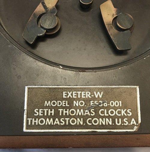 Vintage American Seth Thomas Desk Clock - 4