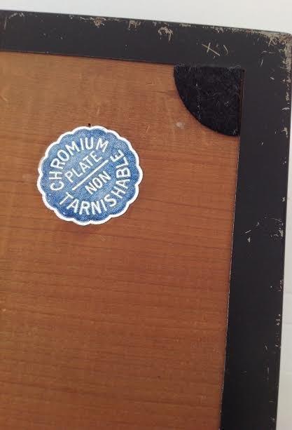 CHROMIUM PLATE CIGAR / TRINKET BOX- PATENT# - 10