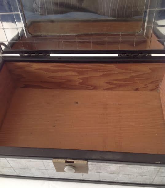 CHROMIUM PLATE CIGAR / TRINKET BOX- PATENT# - 5