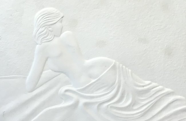 SIGNED 3D Print Nude Lady 38 x 30