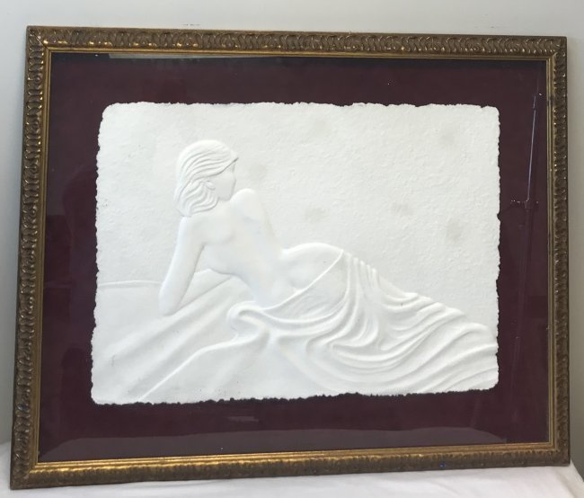 SIGNED 3D Print Nude Lady 38 x 30 - 2