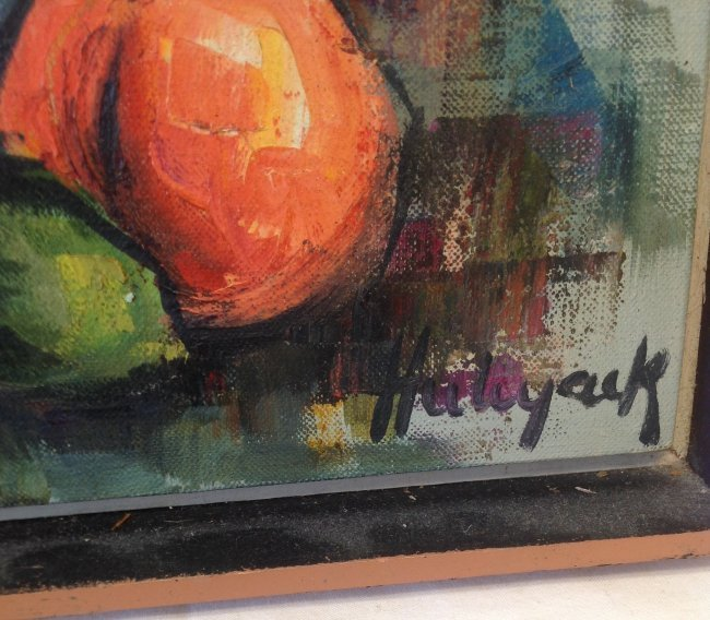 Signed HALYACK Oil Painting - 3