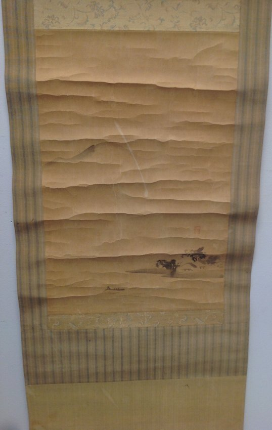 Antique Japanese Scroll SIGNED - 3