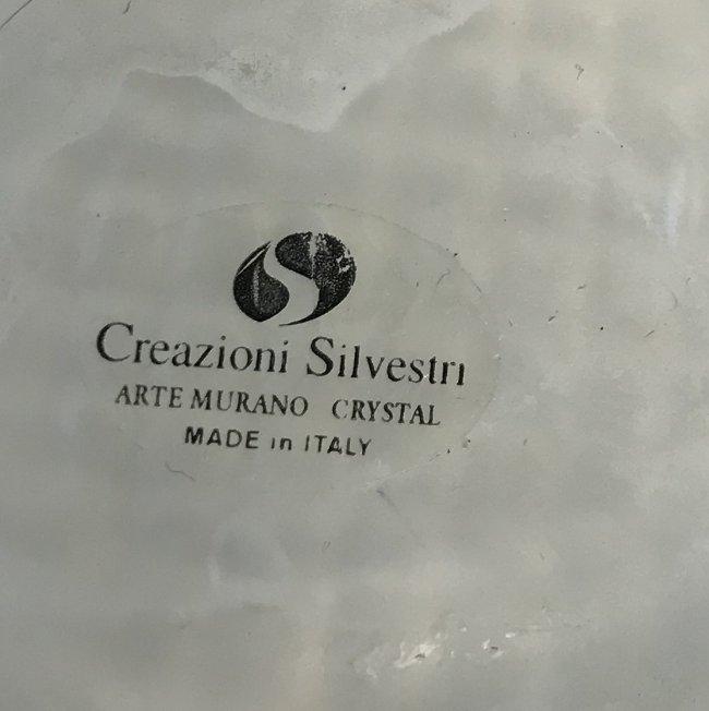 Creazioni Silvestri Murano Crystal Glass Dish - 4
