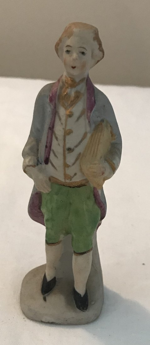 Colonial Japan Male Porcelain Figurine