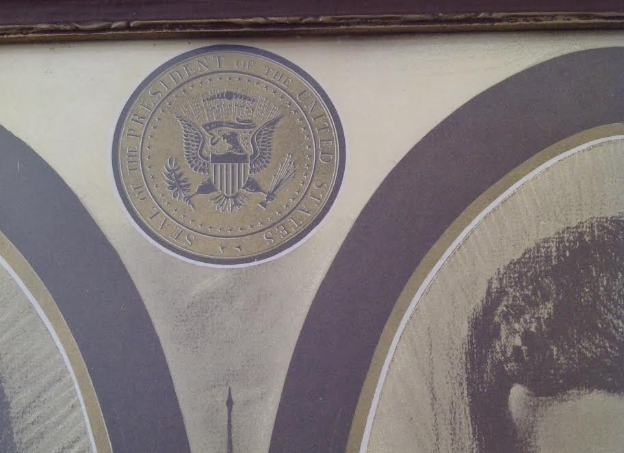 POSTER PRINT A LINCOLN & JOHN F. KENNEDY THE PARALLEL - 4