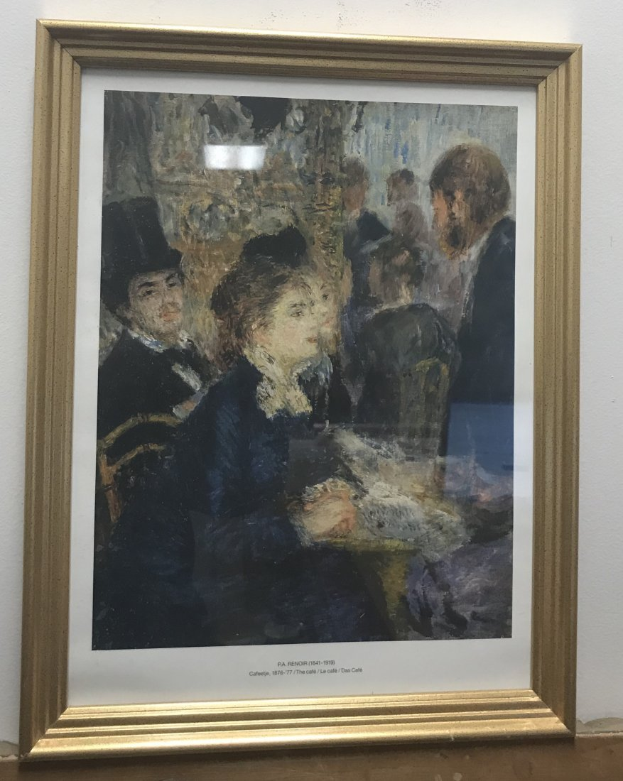 Auguste Renoir LITTLE MARGOT BERARD Color Print - 2