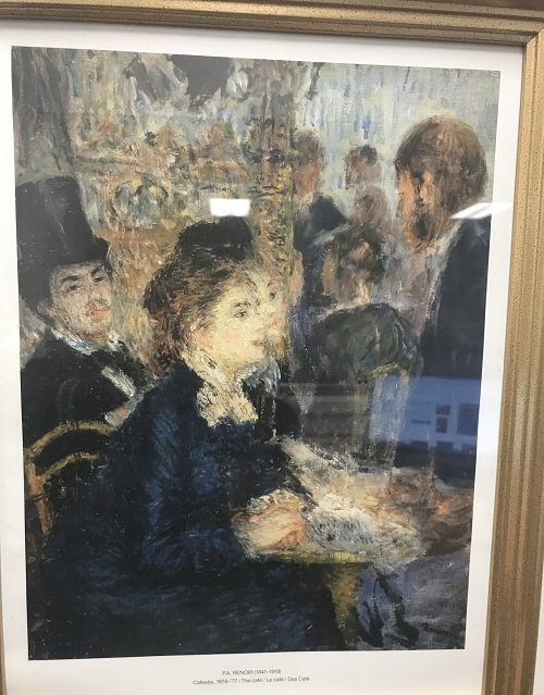 Auguste Renoir LITTLE MARGOT BERARD Color Print - 3