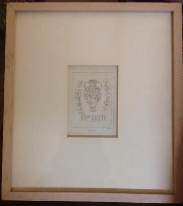 SIGNED ETCHING VAJO CHINFINO SIMONETTI INC 18 X 16 - 2