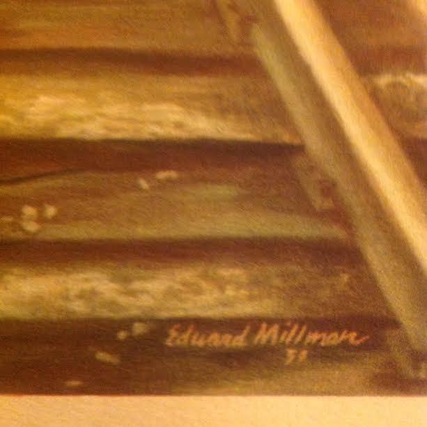 EDWARD MILLMAN LITHOGRAPH 14 X 11 - 3