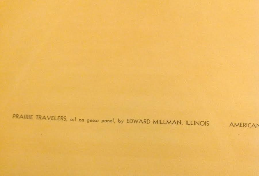 EDWARD MILLMAN LITHOGRAPH 14 X 11 - 4