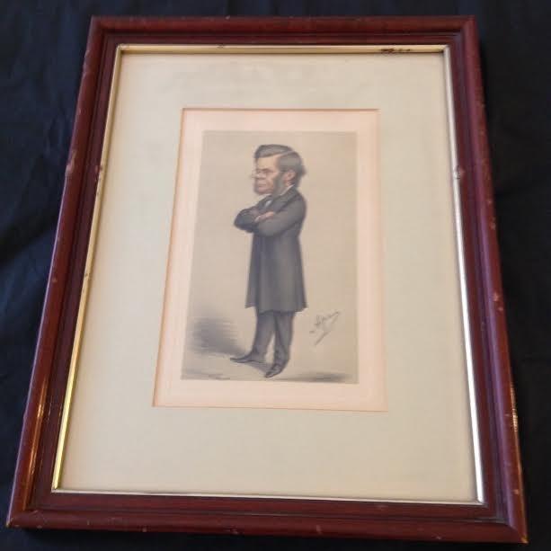 THOMAS HENRY HUXLEY SPY SERIES 1930- PRINT 10 X 13