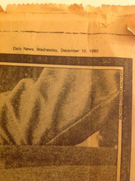 JOHN LENNON DAILY NEWS NEWSPAPER-HIS LIFE & TIMES - 4